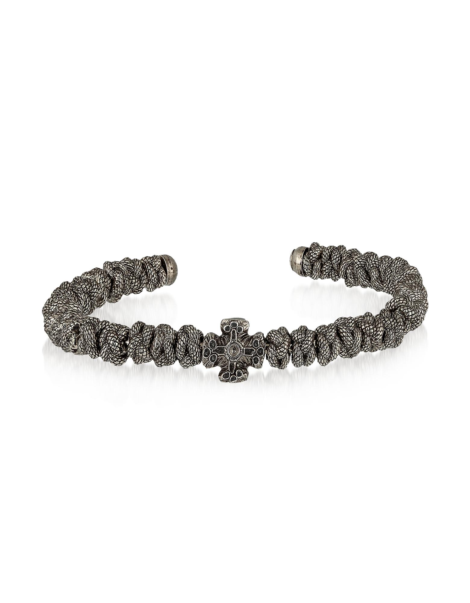 Blue Steel Reptile Bracelet