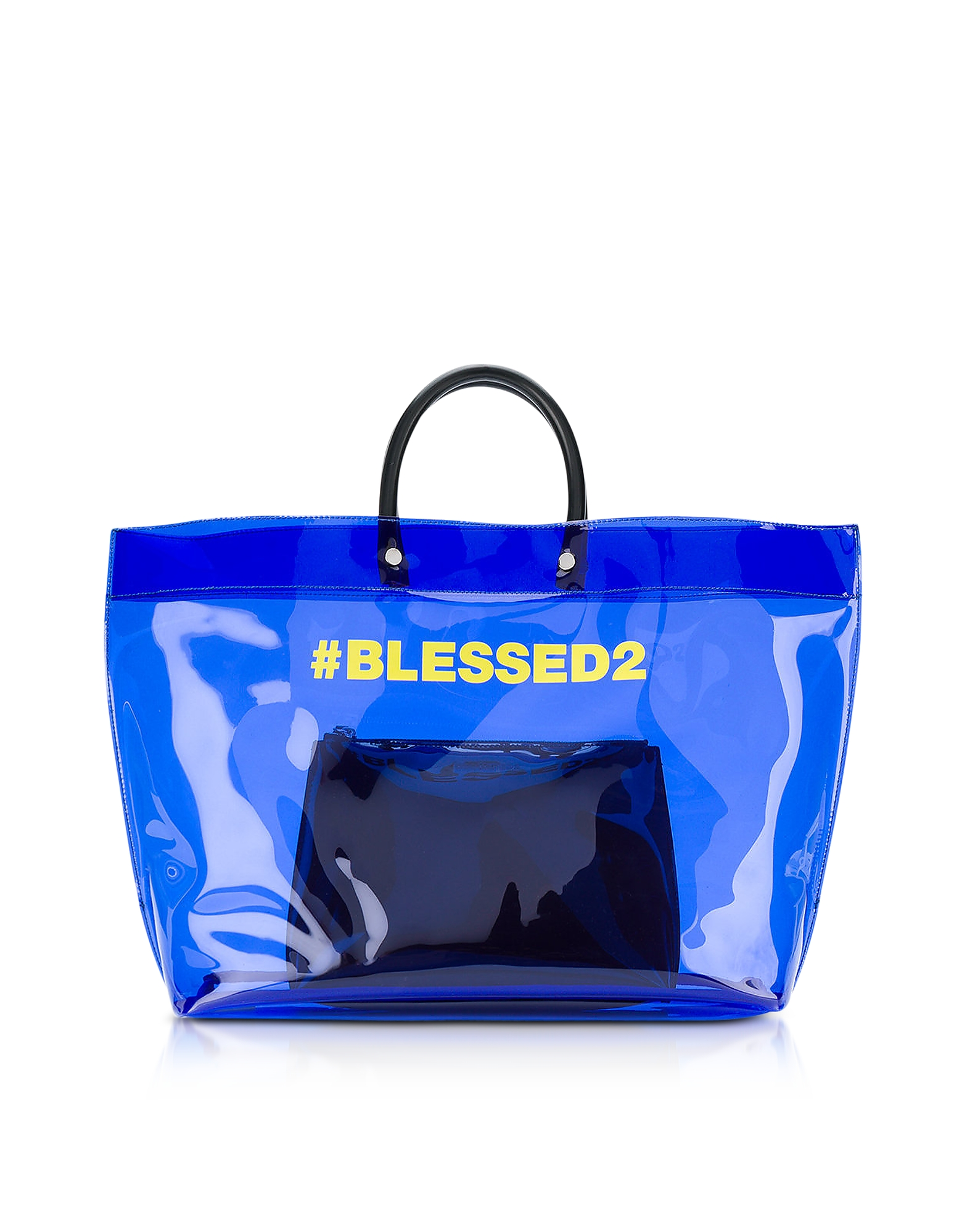 DSquared2 Handbags, Blessed Blue Medium Tote Bag