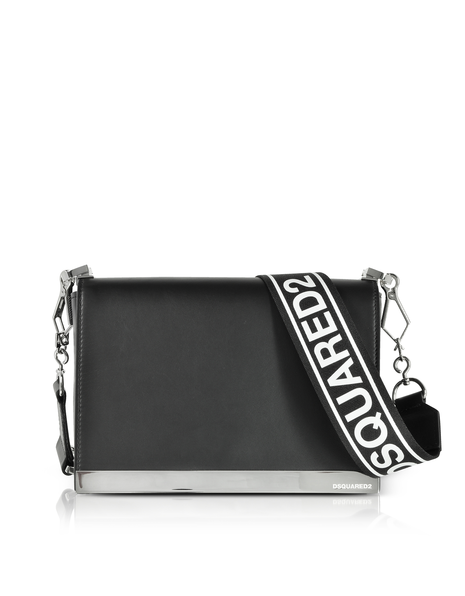 DSquared2 Handbags, Black Leather Small Shoulder Bag