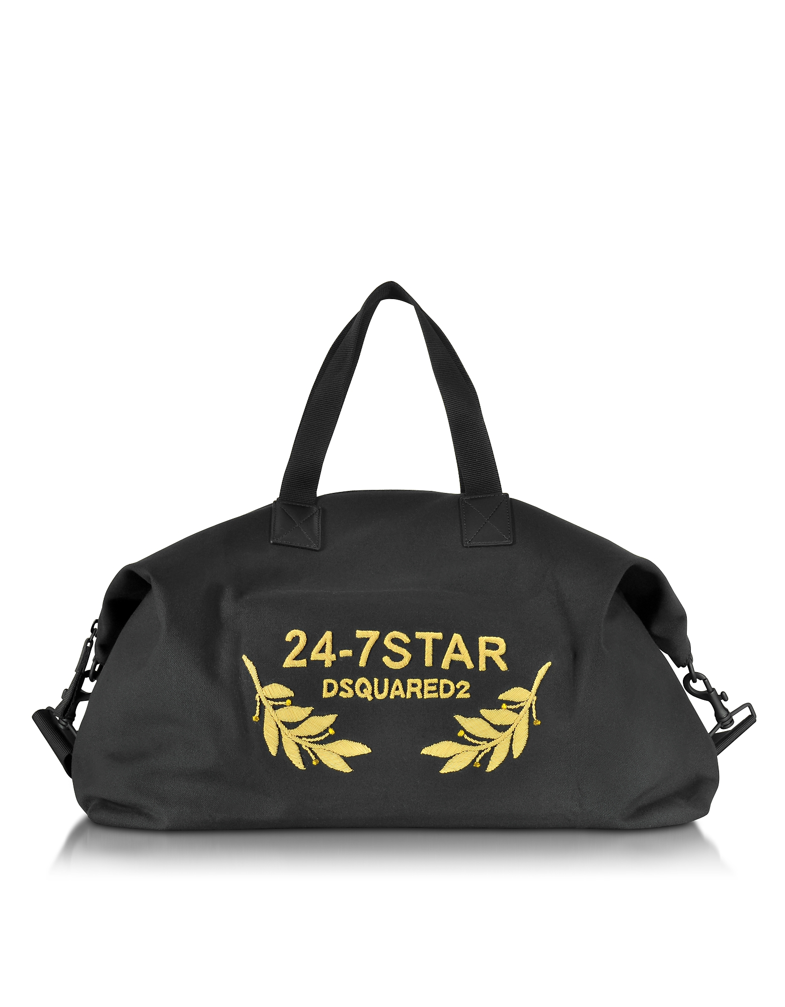 DSquared 24-7 Star Icon - Черная Сумка для Одежды из Ткани