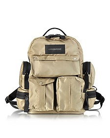 Nylon Utilitary Backpack  - DSquared2