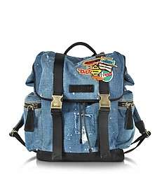Denim Patch Backpack - DSquared