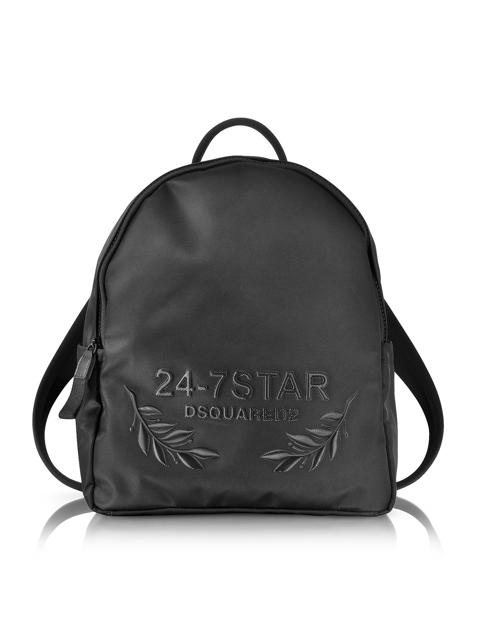 24-7 Star Icon - Черный Рюкзак из Нейлона