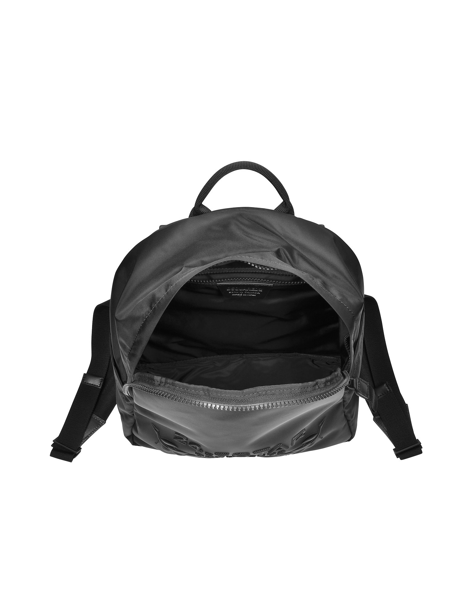 24-7 Star Icon Black Nylon Backpack от Forzieri.com INT