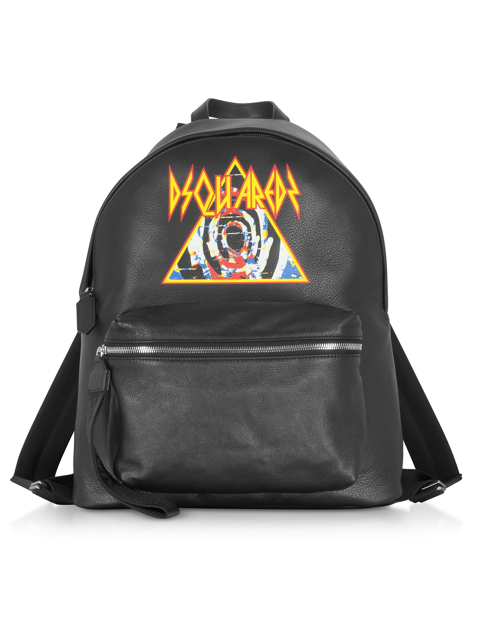Black Backpack w/ Rock Print