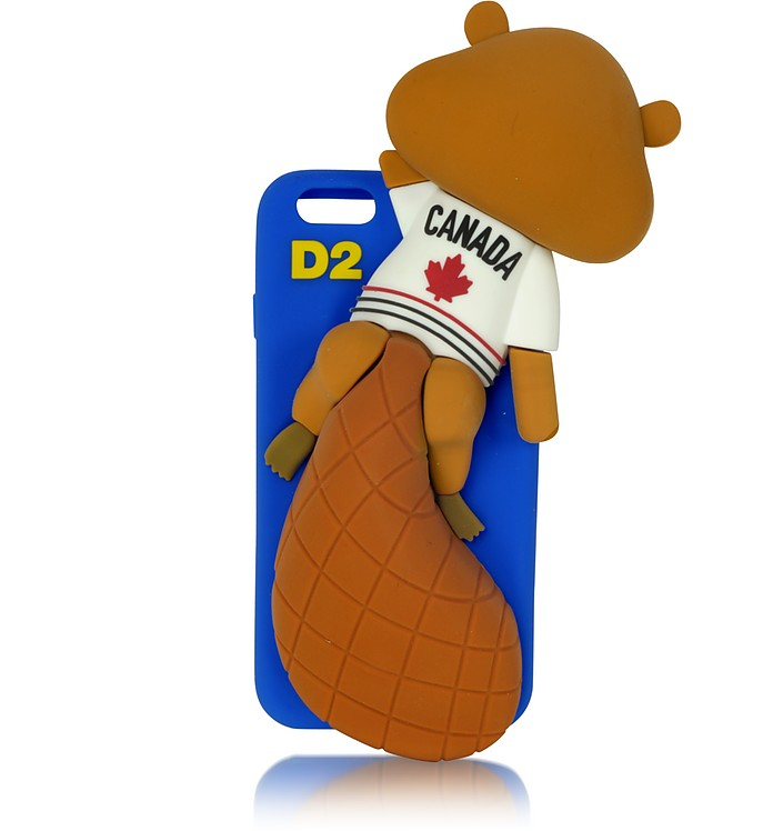 Electric Blue Silicone iPhone 6 Cover  - DSquared2