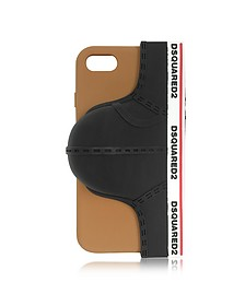 Black Silicone Signature iPhone 7 Cover - DSquared2