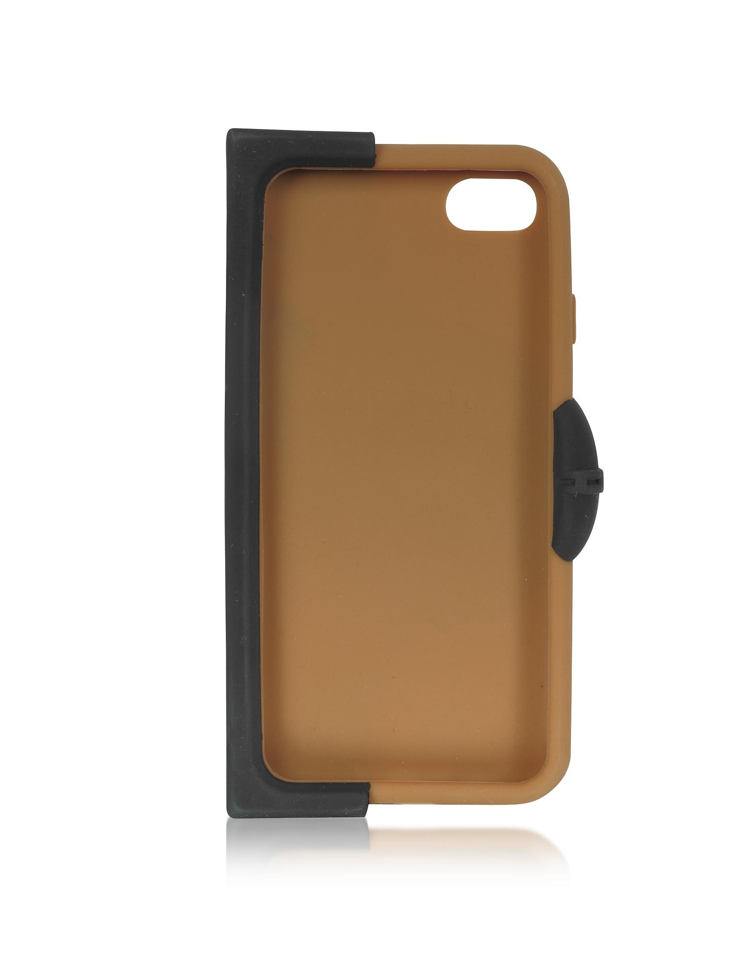 Black Silicone Signature iPhone 7 Cover w/Briefs от Forzieri.com INT