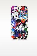 Multicolor Manga Print Silicone iPhone 6 Cover - DSquared2