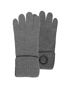 Cable Knit Herren-Handschuhe aus Wolle - DSquared