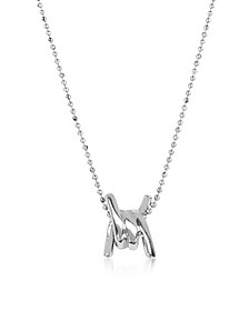 Babe Wire Silver Necklace - DSquared2