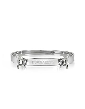 DSquared2 - Mini Babe Wire Sterling Silver Armlet