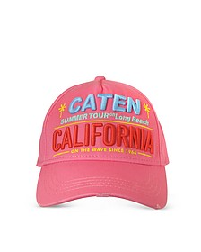 Caten California Embroidered Baseball Cap - DSquared2