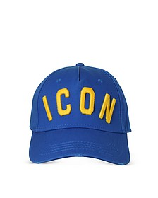Blue Icon Embroidered Baseball Cap - DSquared2