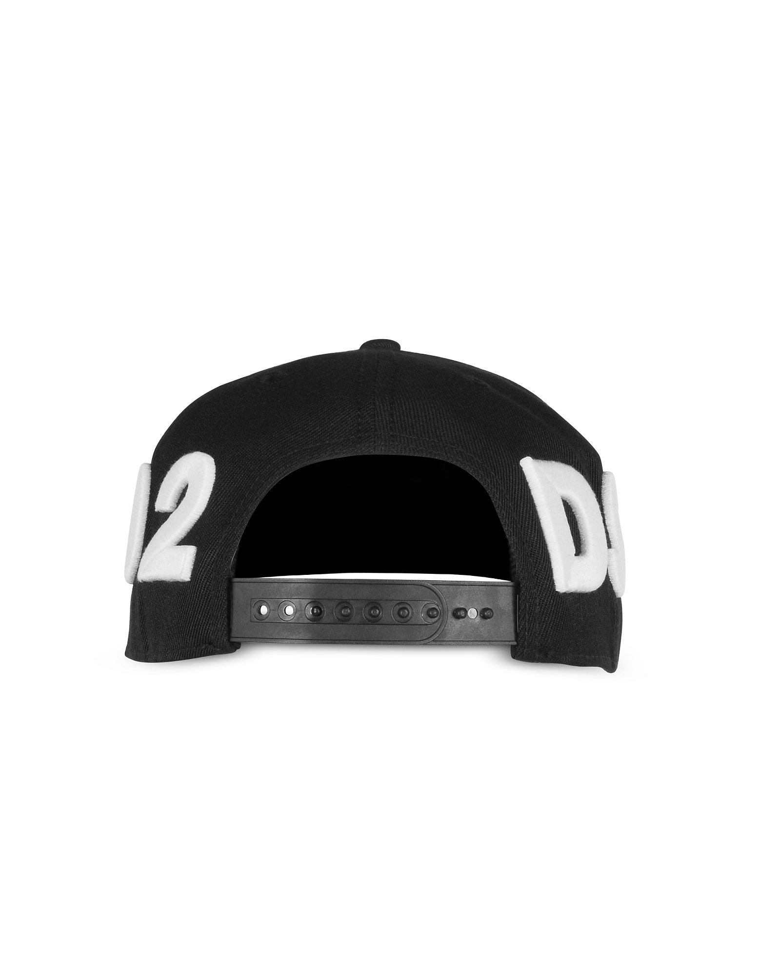 D2 Black and White Baseball Cap от Forzieri.com INT