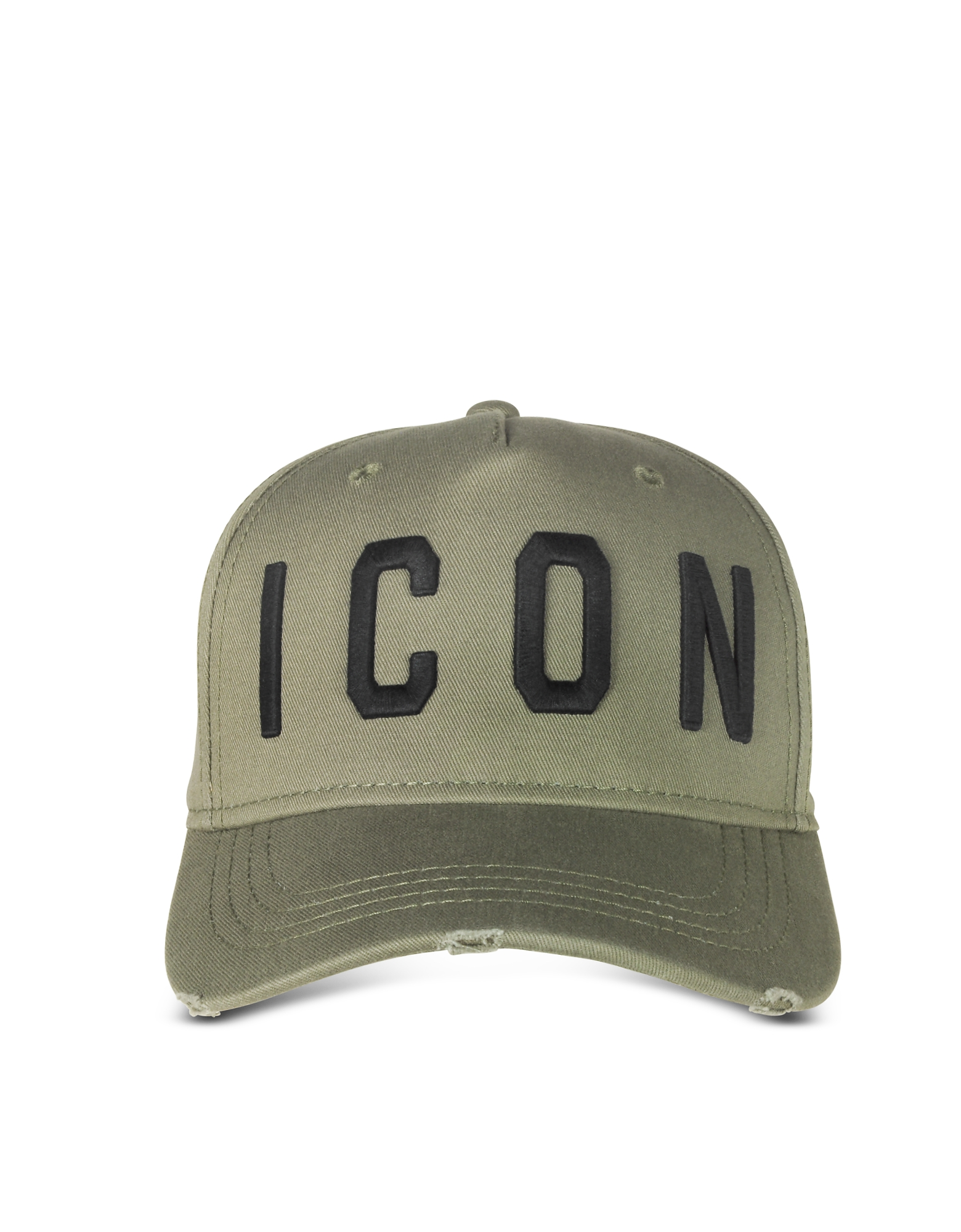 DSquared2 Men's Hats, Embroidered Icon Logo Gabardine Baseball Cap