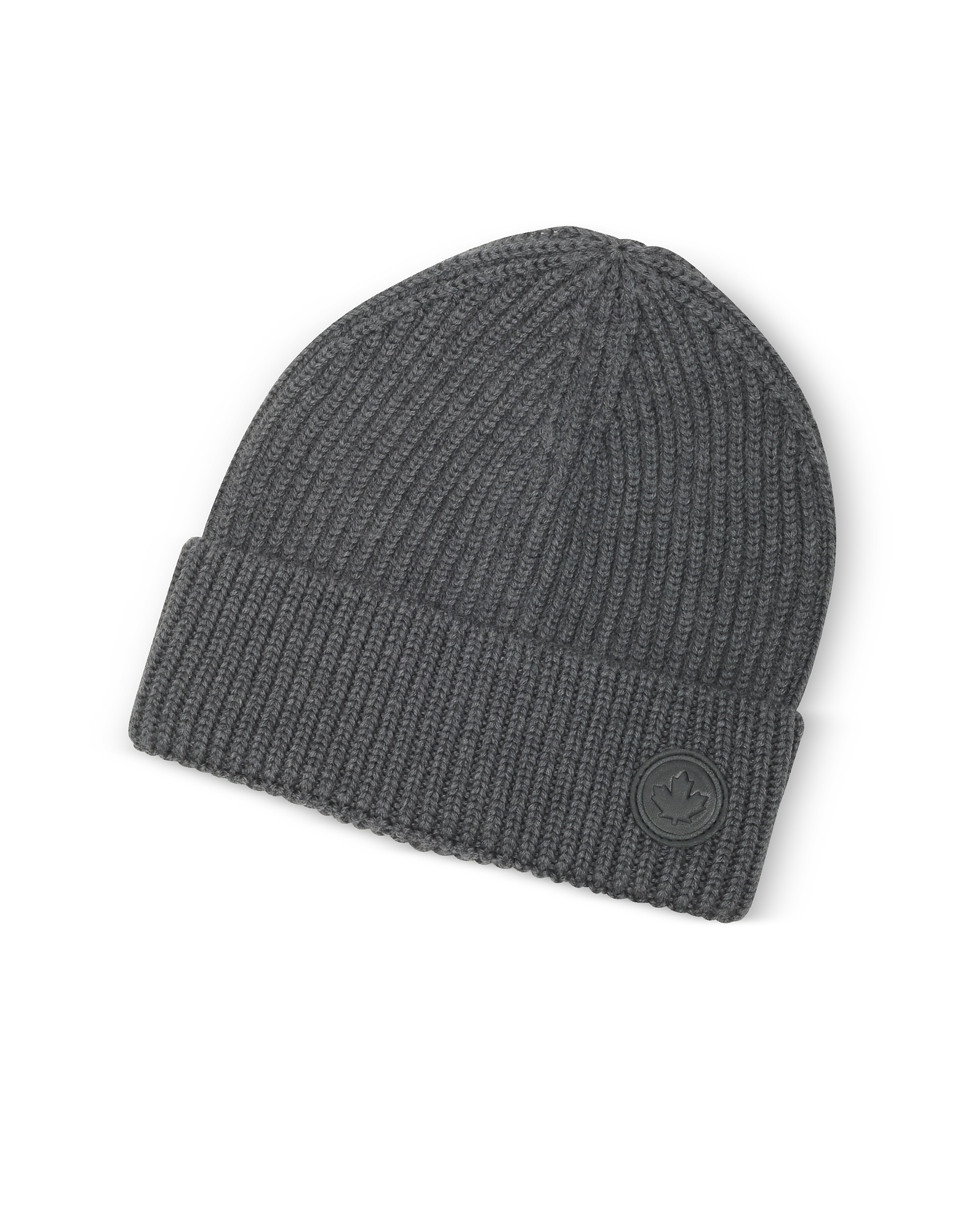 DSquared2 Men's Hats, Solid Wool Knit Hat