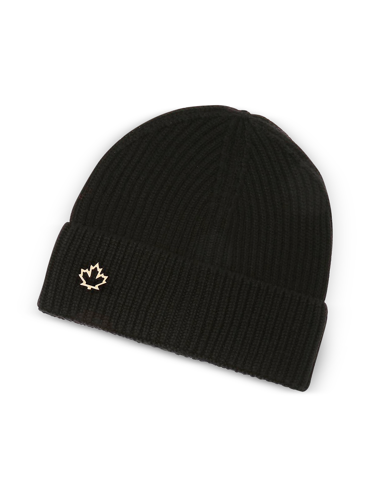 Image of DSquared2 Designer Women's Hats, Solid Wool Women's Knit Hat