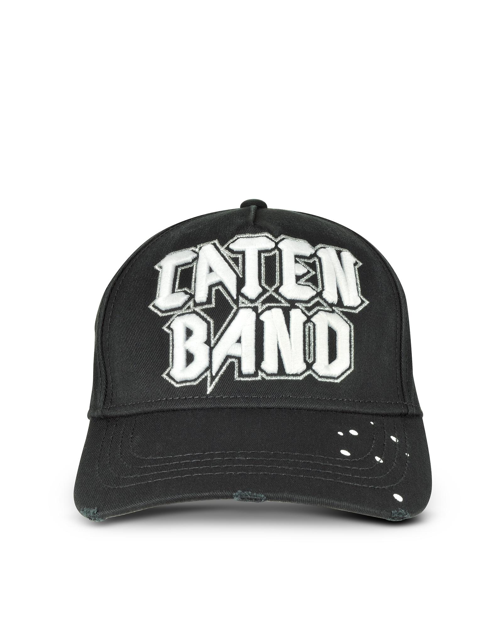 Бейсболка из Хлопка с Вышивкой Caten Band