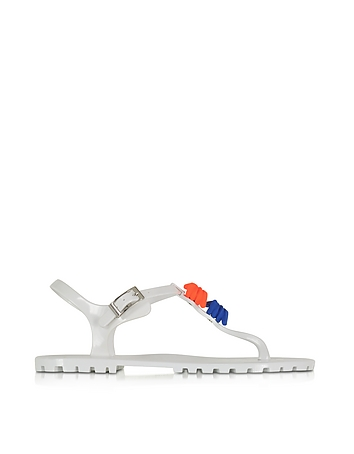 DSquared2 - Babe Wire White Rubber Sandal