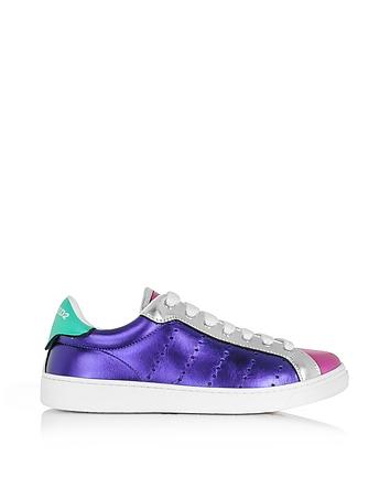 DSquared Santa Monica Multicolor Metallic Leather Sneaker