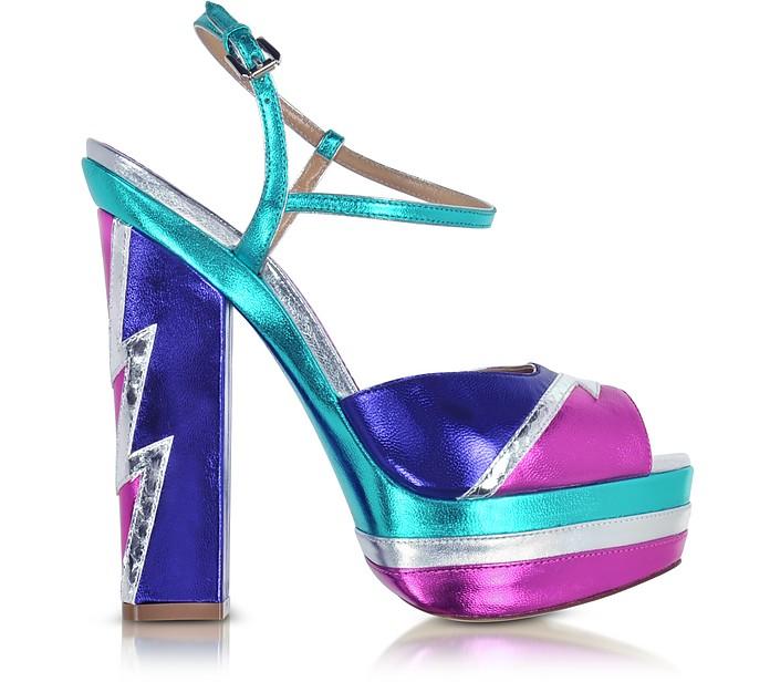 Glam Flash Platform Ziggy Sandal - DSquared2
