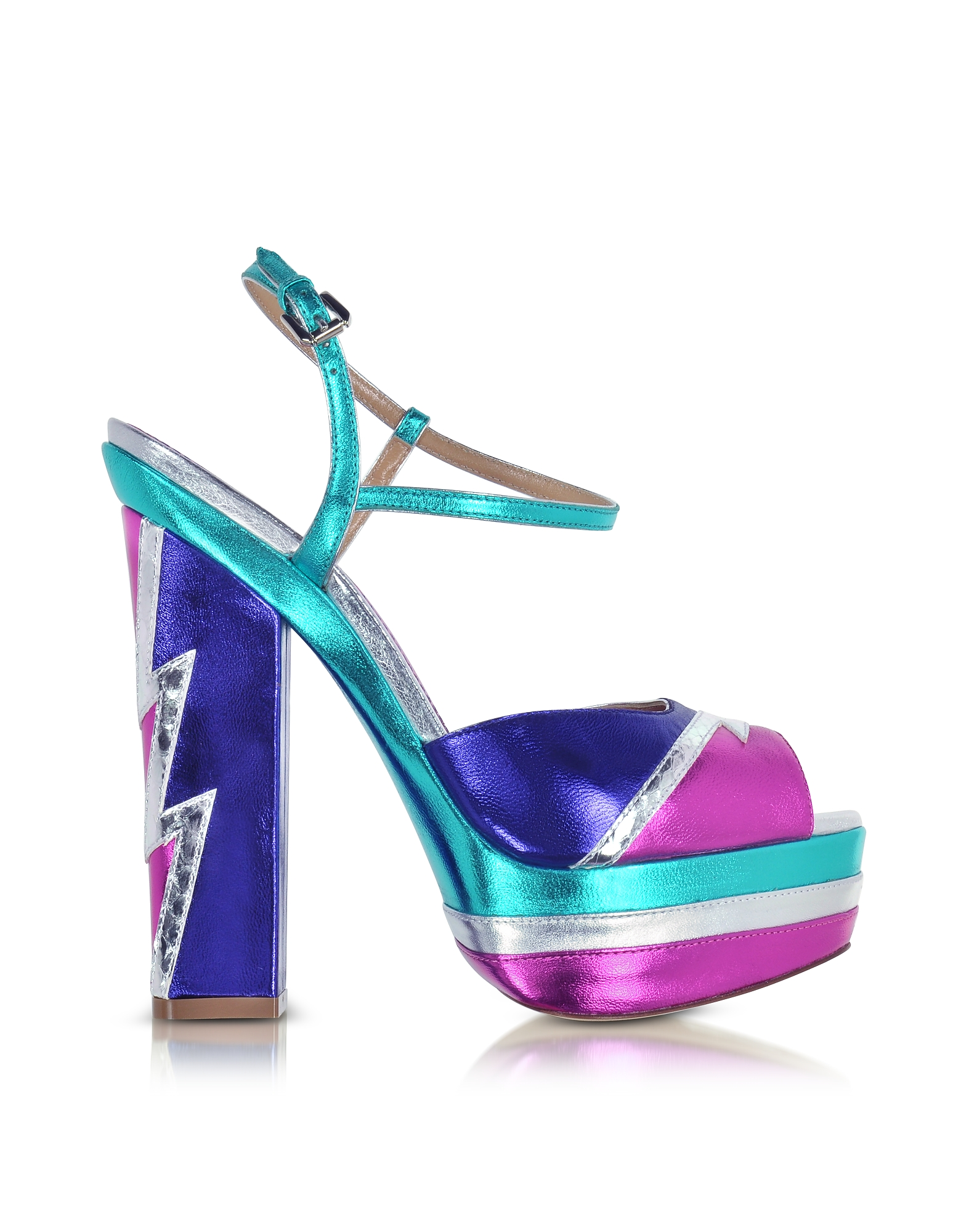 DSquared2 Shoes, Glam Flash Platform Ziggy Sandal