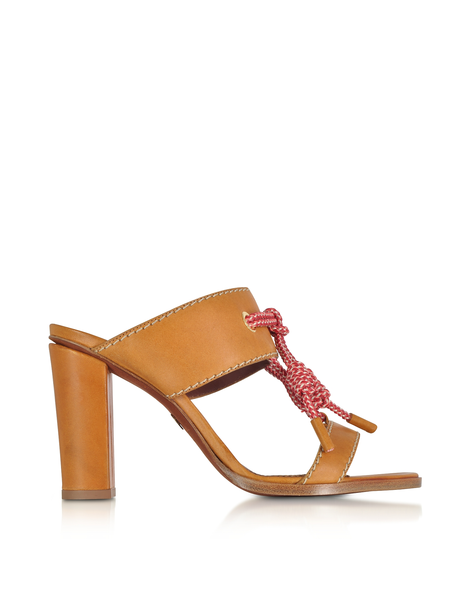 DSquared2 Shoes, Camel Leather High Heel Sandals