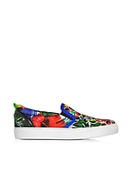 DSquared2 Surfers's Paradise Sneaker Donna Slip on a Fiori Multicolor - dsquared2 - it.forzieri.com