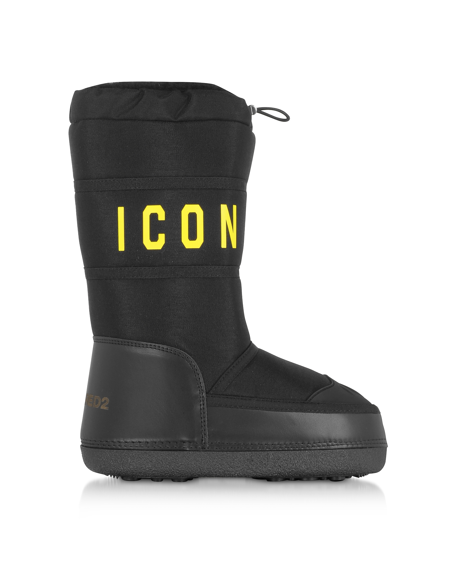 Icon Nylon Boots, Black