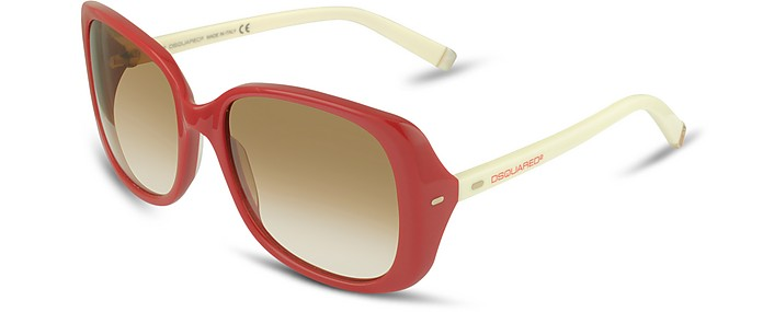 Signature Acetate Square Frame Sunglasses - DSquared2