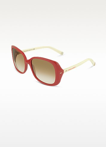 Signature Acetate Square Frame Sunglasses - DSquared2