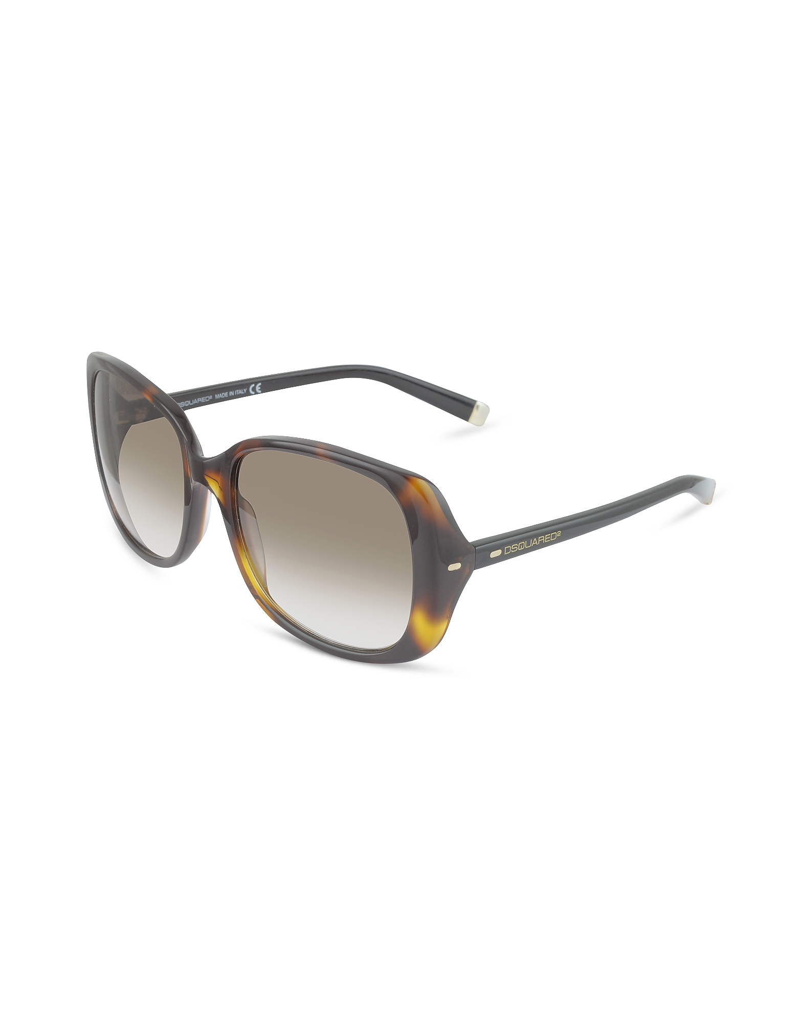 DSquared2 Designer Sunglasses, Signature Acetate Square Frame Sunglasses