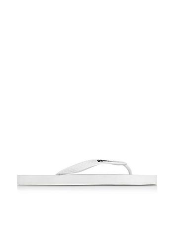 White Flip-Flop