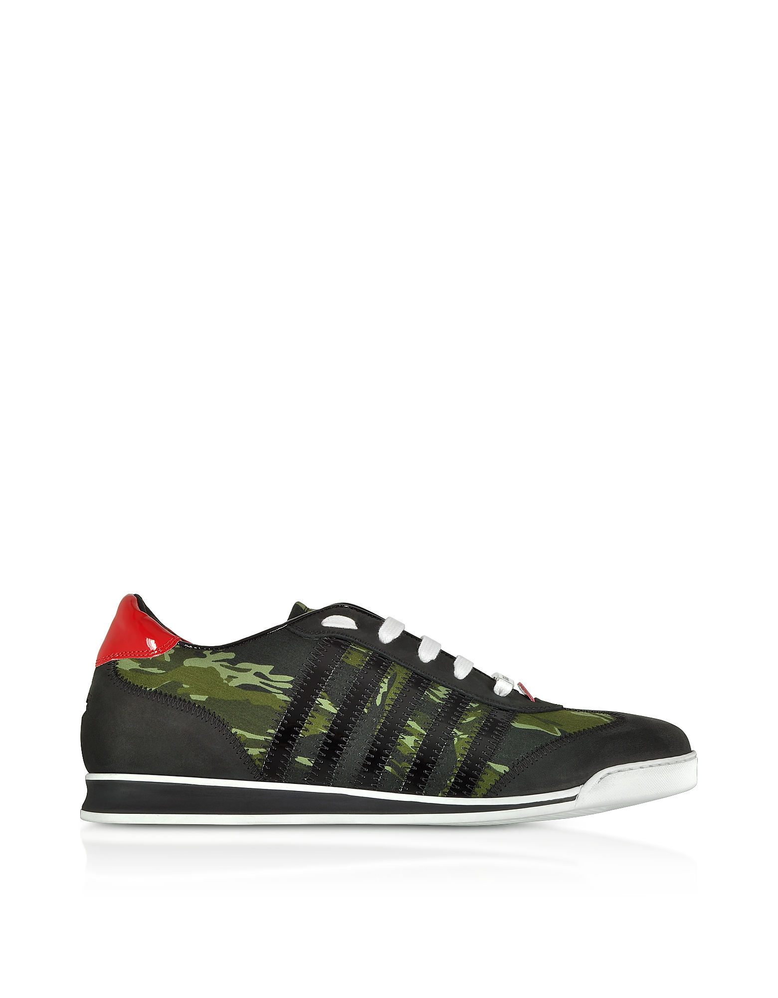 Camoulage Nylon Men's Sneakers