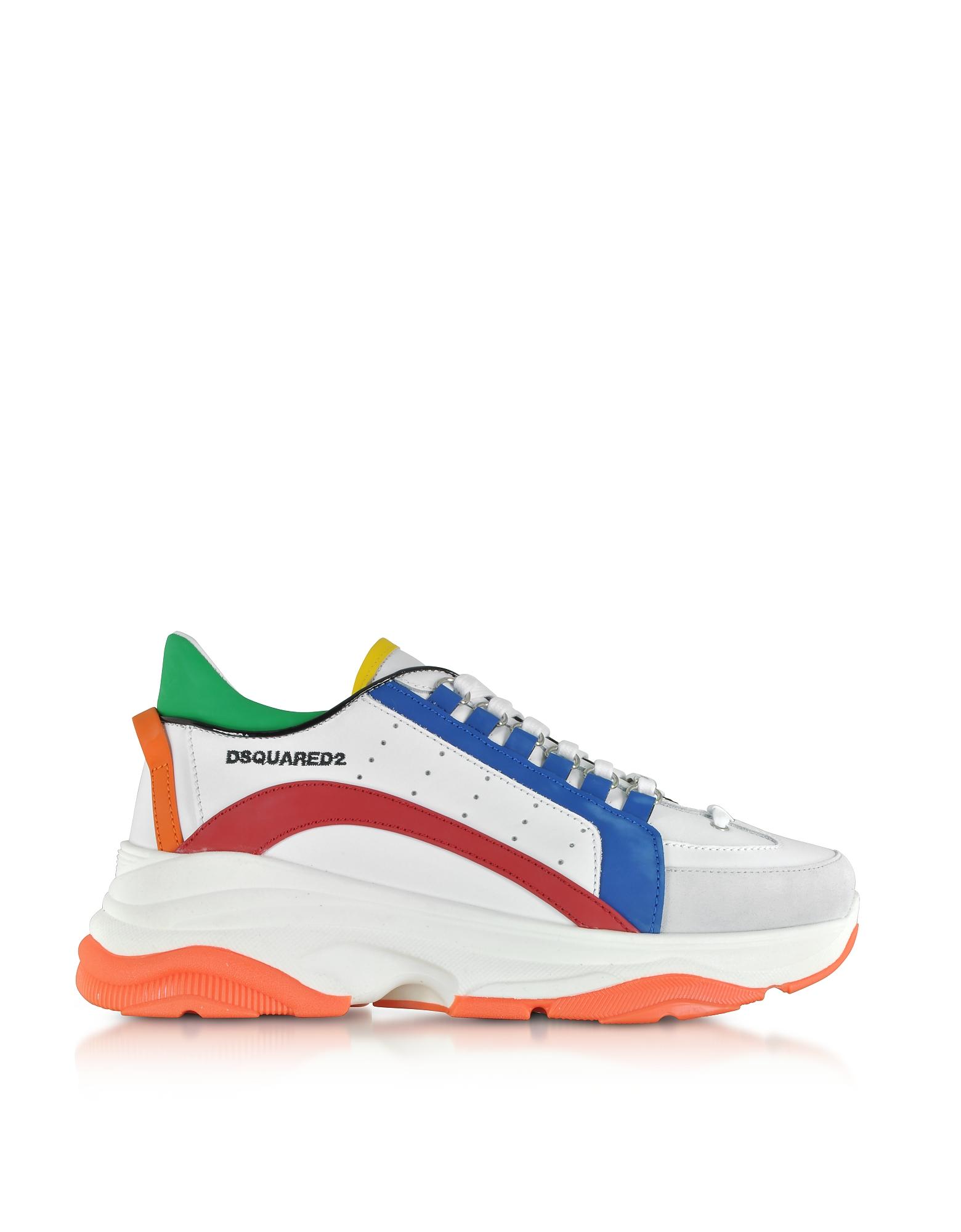 Bumpy 551 Gommato Leather Men's Sneakers