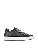 DSquared2 Asylum Sneaker da Uomo in Pelle Nera - dsquared2 - it.forzieri.com