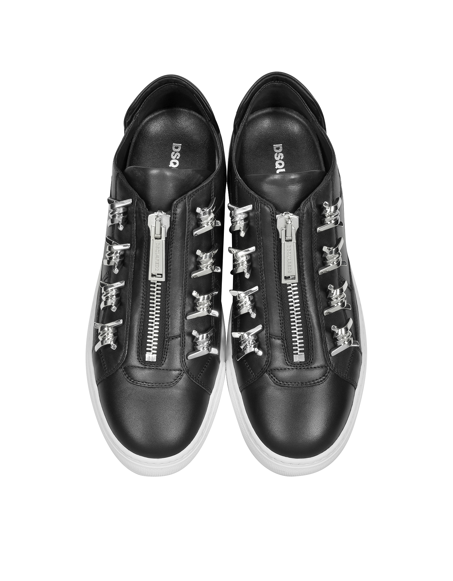 Asylum Black Leather Men's Sneaker от Forzieri INT