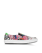 DSquared2 Sneaker Slip on in Tecno Tessuto Stampa Manga - dsquared2 - it.forzieri.com