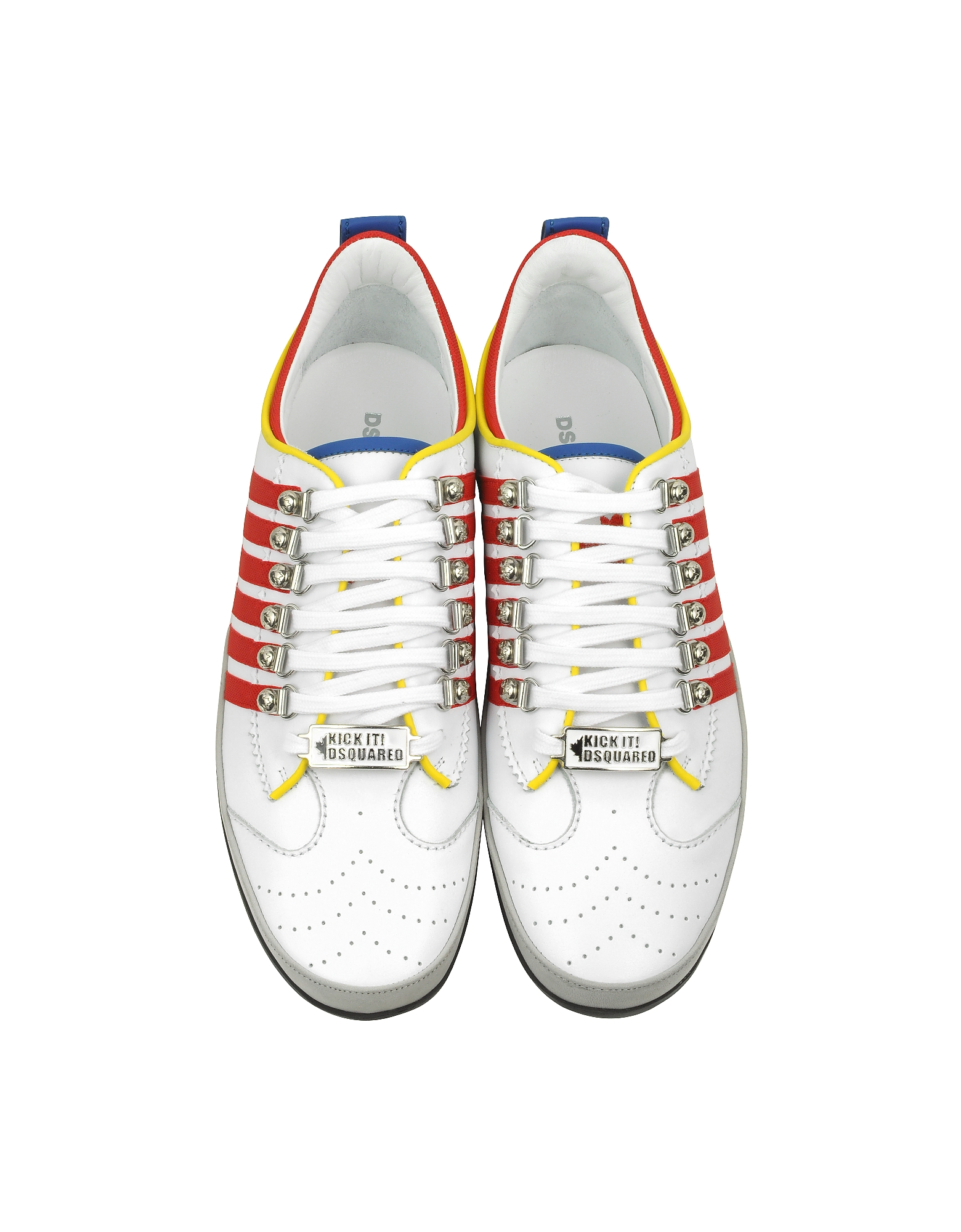 Multicolor Leather Sneaker от Forzieri INT