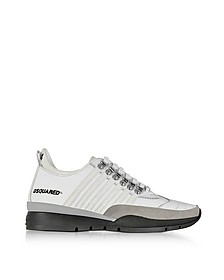 251 White Leather Men's Sneakers - DSquared