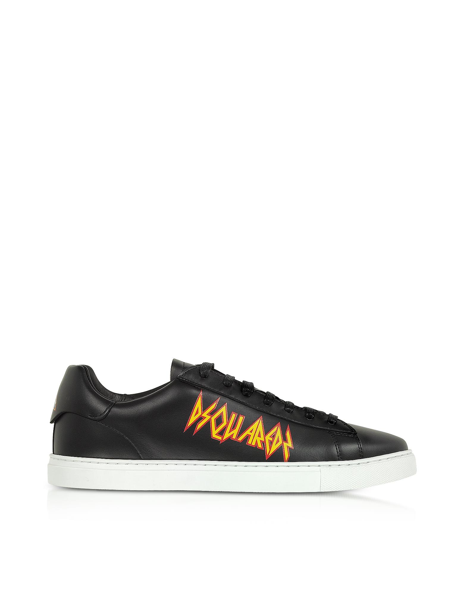 Punk New Tennis Sneakers w/ Rock Print