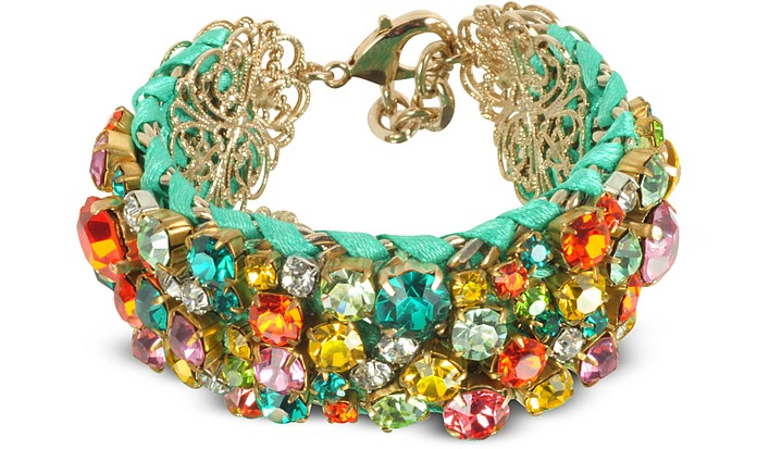 Multicolor Crystal Bracelet - Radà
