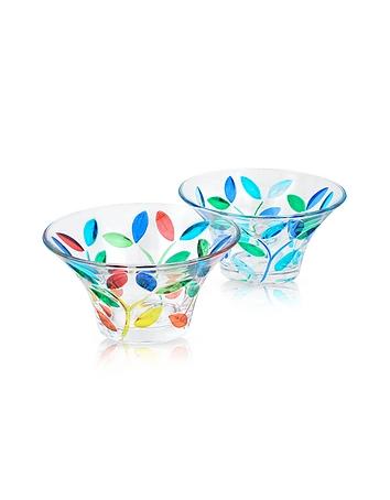 Due Zeta - Rialto - Hand Decorated Murano Glass Small Bowl