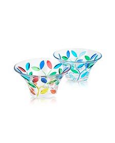 Rialto - Récipient en verre de Murano décoré à la main - Due Zeta