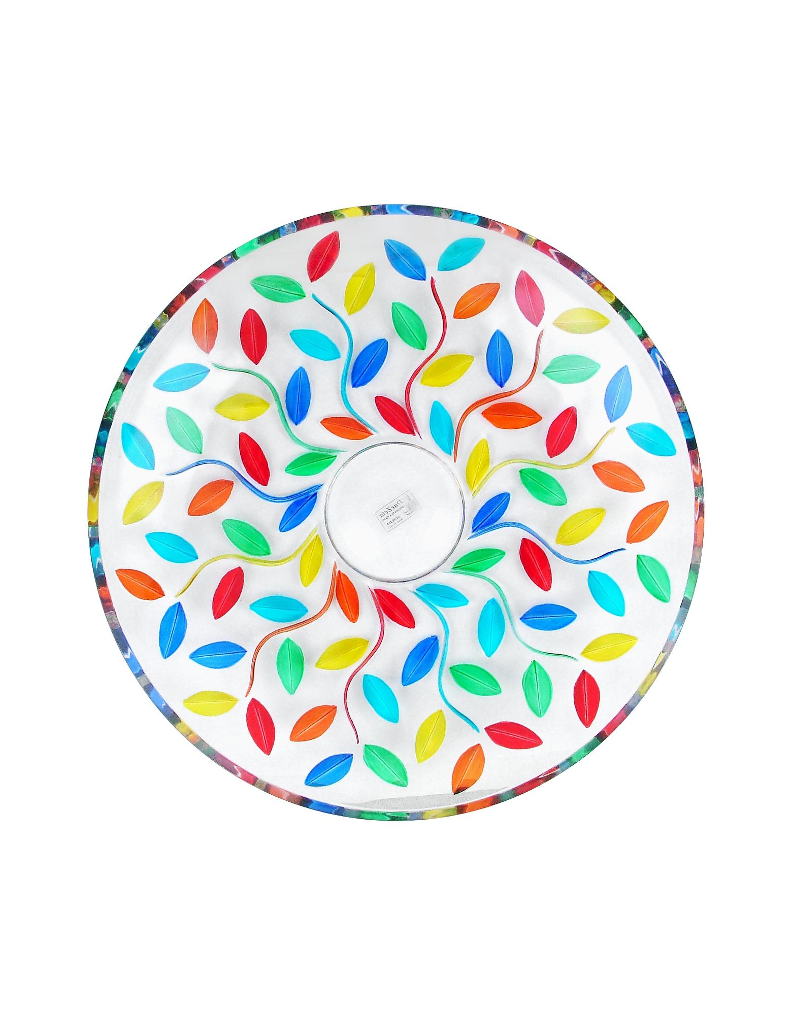 Doge - Hand Decorated Murano Glass Centerpiece Bowl от Forzieri.com INT