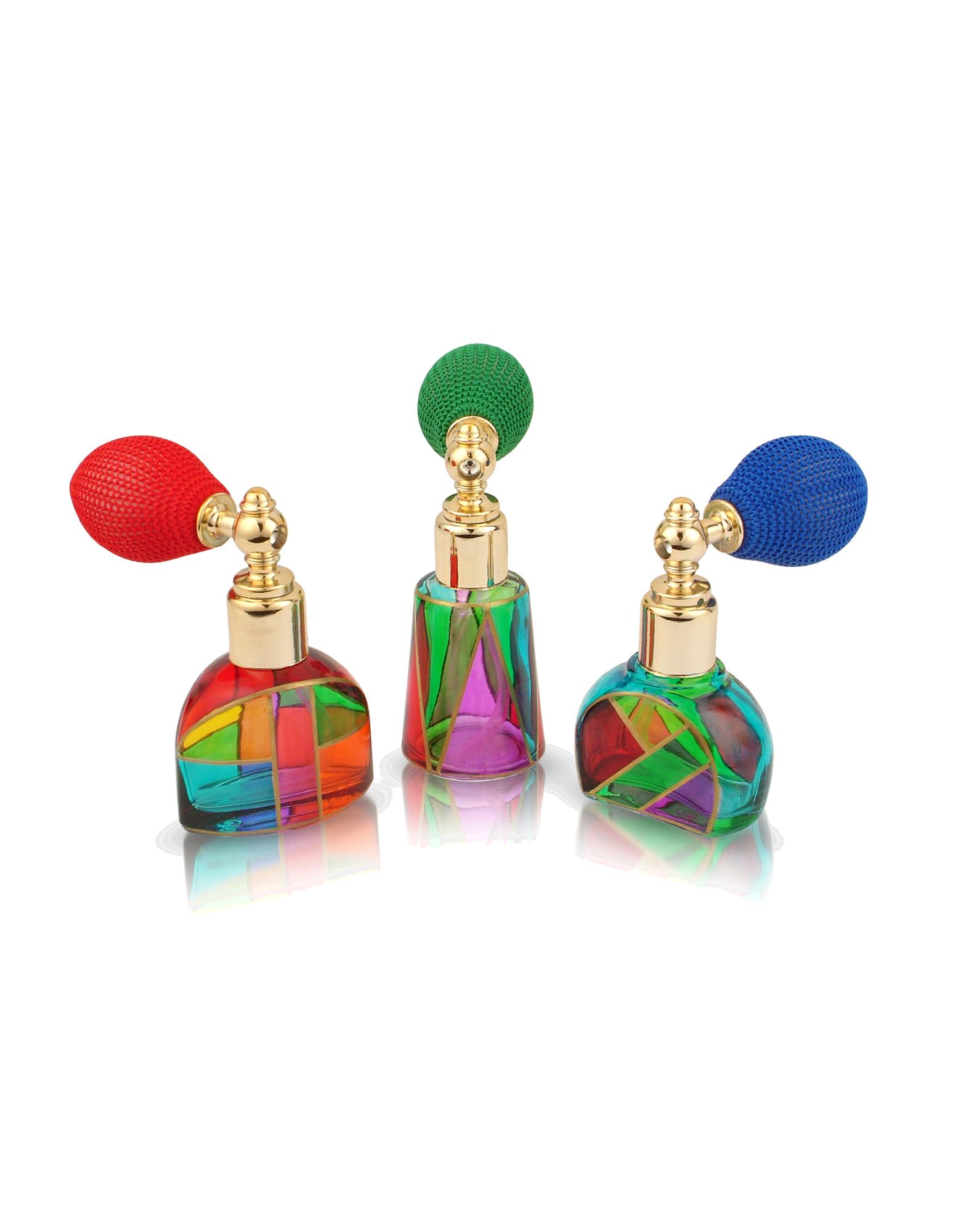 Image of Casanova - Hand Decorated Murano Glass Spray Perfume Bottles