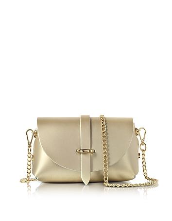 Le Parmentier - Caviar Metallic Leather Mini Shoulder Bag