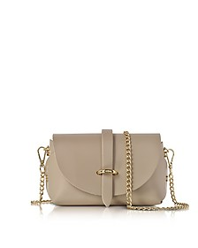 Caviar Nude Leather Mini Shoulder Bag - Le Parmentier