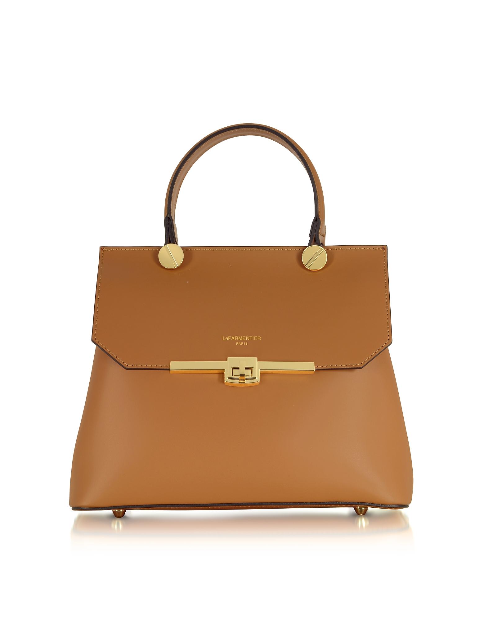 Le Parmentier Designer Handbags, Atlanta Top Handle Satchel Bag (Luggage & Bags) photo